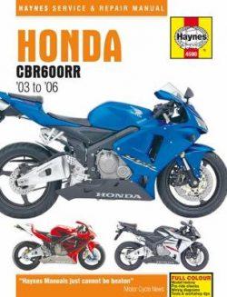 Honda CBR600RR Service And Repair Manual