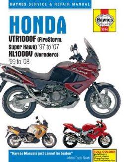 Honda VTR1000F (Firestorm, Superhawk) & Xl1000V (V