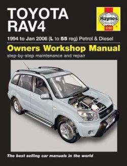 Toyota Rav4 Petrol And Diesel Service And Repair M: 94-06