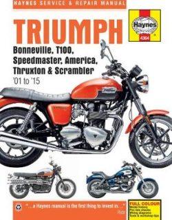 Triumph Bonneville, T100, Speedmaster, America, Thruxton & Scrambler (01 – 15)