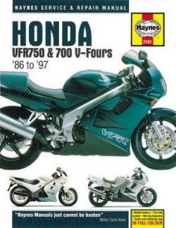 Honda VFR750 & 700 V-Fours: 86-97