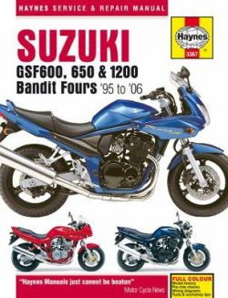 Suzuki Gsf600, 650 & 1200 Bandit Fours: 95-06