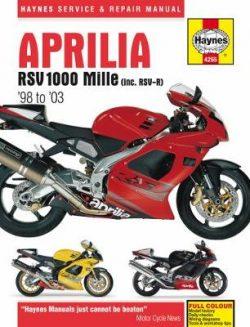 Aprilia Rsv1000 Mille: 98-03