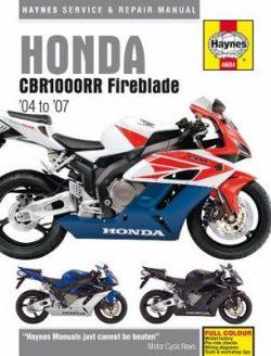 Honda CBR1000RR (04 -07): 04-07
