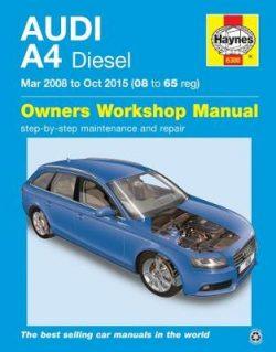 Audi A4 Diesel (Mar '08 – Oct '15) 08 To 65