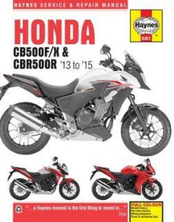 Honda CB500F/X & CBR500R ('13 To '15)