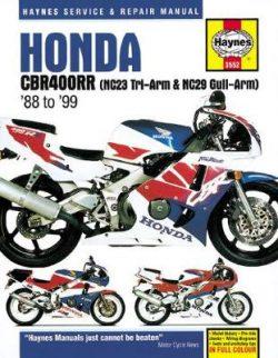 Honda CBR400Rr Fours