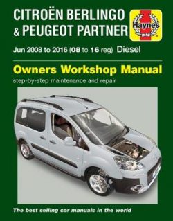 Citroen Berlingo & Peugeot Partner Diesel (June '08-'16) 08 To 16