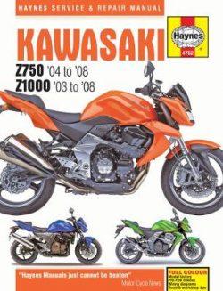 Kawasaki 750 & 1000 Motorcycle Repair Manual