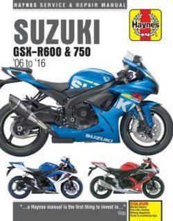 Suzuki GSX-R600 & 750 Update (06 – 16)