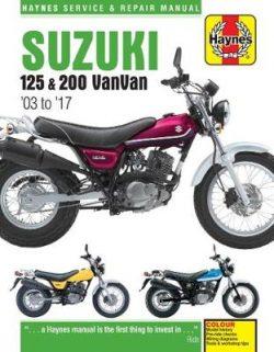 Suzuki Rv125/200 Vanvan ('03 To '16)