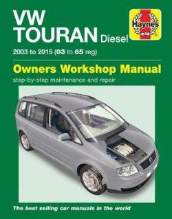 VW Touran Diesel 2003-2015 Repair Manual
