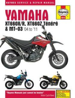 Yamaha Xt660 & Mt-03 Service And Repair Manual: 2004-2011