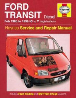 Ford Transit Diesel Service And Repair Manual: 86-99