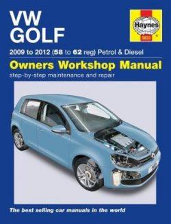 VW Golf Petrol & Diesel: (09 – 12) 58 to 62