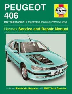 Peugeot 406 Petrol & Diesel: (Mar 99 – 02) T to 52