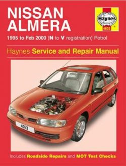 Nissan Almera Petrol (95 – Feb 00) N To V