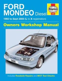 Ford Mondeo Diesel (93 – Sept 00) L To X