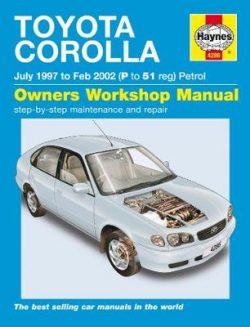 Toyota Corolla Petrol 1997-2002 Repair Manual