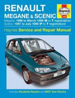 Renault Megane & Scenic 1996-1999 Repair Manual