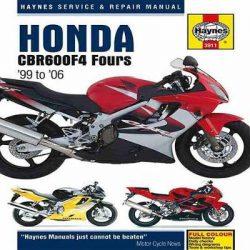 Honda CBR600F4 Service and Repair Manual: 1999 to 2006