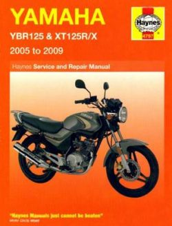 Yamaha YBR125 and XT125R/X Service and Repair Manual: 2005 to 2009