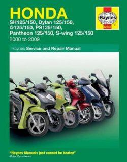 Honda 125 Scooters (Sh, Ses, Nes, Pes & Fes 125) (00 – 09)