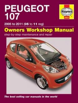 Peugeot 107 Petrol 2005-2011 Repair Manual
