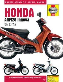 Honda Anf125 Innova Scooter (03 – 12)