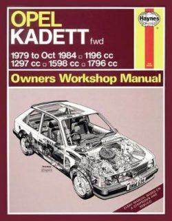 Opel Kadett Petrol (Nov 79 – Oct 84)