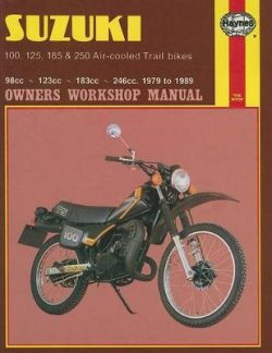 Suzuki 100, 125, 185 & 250 Air-Cooled Trail Bikes (79 – 89)