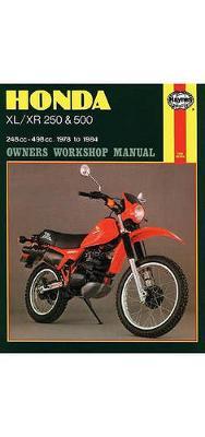 Honda XL/XR with 250cc/500cc 1978-1983 Repair Manual
