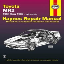 Toyota MR2 1985-1987 Repair Manual