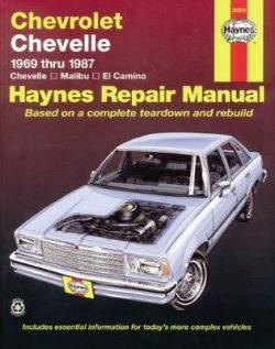 Chevrolet Chevelle, Malibu & El Camino (69 – 87)