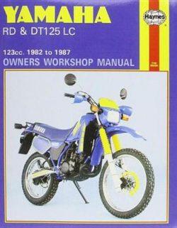 Yamaha RD & DT125 LC 1982-1987 Repair Manual