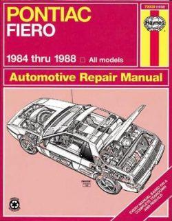 Pontiac Fiero 1984-1988 Repair Manual
