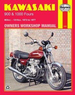 Kawasaki 900 and 1000 Fours 1973-1977 Repair Manual