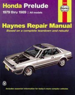 Honda Prelude Cvcc (79 – 89)