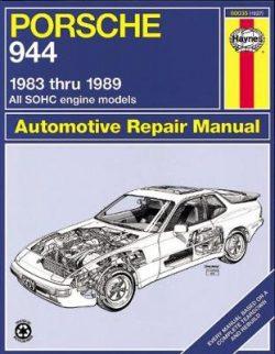 Porsche 944 4-cyl 1983-1989 Repair Manual