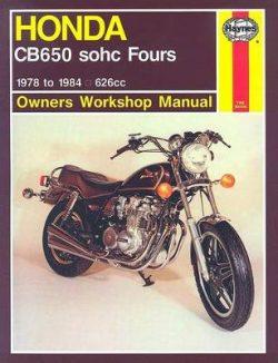 Honda CB650 Sohc Fours (78 – 84)