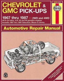 Chevrolet & GMC Pick-Ups (67 – 87)