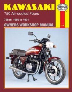 Kawasaki 750 Air-cooled 738cc Fours 1980-1985 Repair Manual