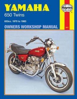 Yamaha 650 Twins 653cc 1970-1983 Repair Manual