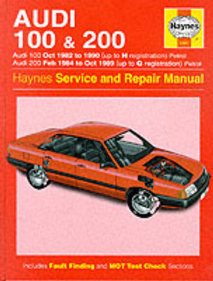 Audi 100 1982-90 and 200 1984-89 Service and Repair Manual