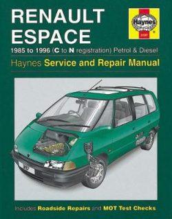 Renault Espace 1985-1996 Repair Manual