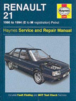 Renault 21 (Petrol) Service and Repair Manual