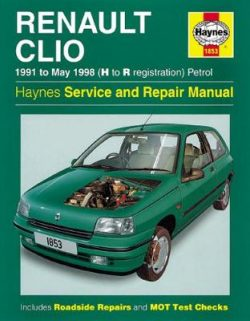 Renault Clio Petrol (91 – May 98) H To R