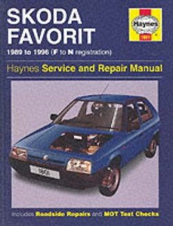 Skoda Favorit Service and Repair Manual