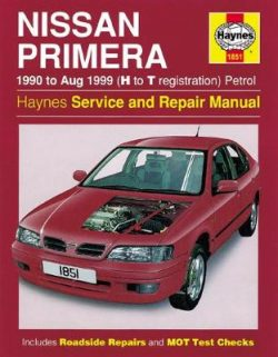 Nissan Primera Petrol 1990-1999 Repair Manual