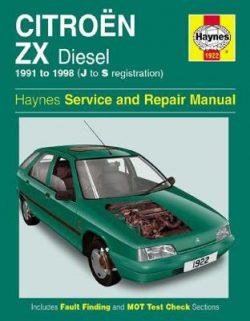 Citroen ZX Diesel (91 – 98) J To S